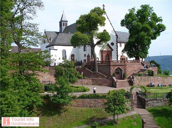 Engelberg großheubach parken kloster Fränkischer Rotwein